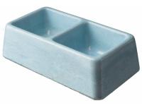 Betonové misky barevné - dvoumisky
