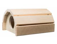 Dřevěný domeček křeček - malý