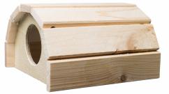 Dřevěný domeček křeček - velký