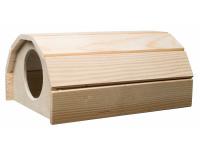Dřevěný domeček morče