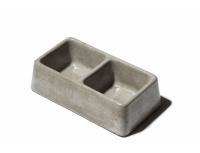 Betonové misky levnější - dvoumisky