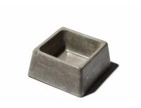 Betonové misky levnější - čtvercové